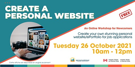 Create a Personal Website - Online Workshop for Newcomers tickets