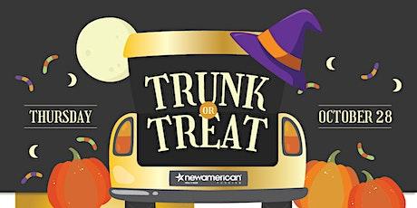 Happy Halloween!!!! Trunk or Treat Drive-Thru tickets
