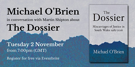 Online launch of The Dossier tickets