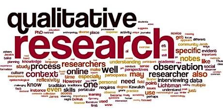 Qualitative Research Methods- Webinar tickets