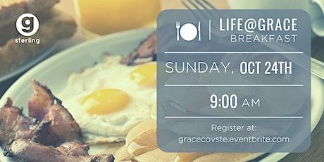 Life@Grace Breakfast tickets