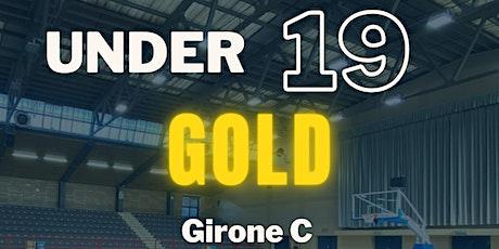 U/19 GOLD vs SOUL BASKET biglietti