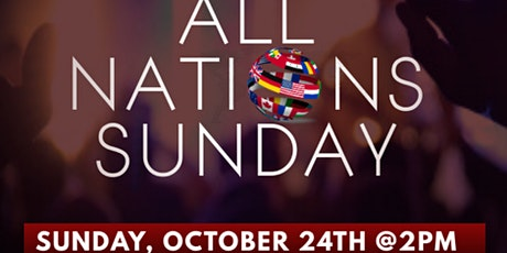 All Nations Sunday tickets