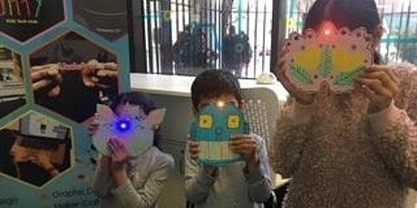 Super GLOW mask, family learning 7-11yrs tickets