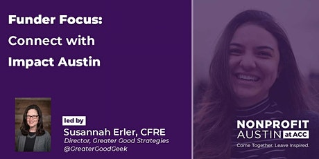 Funder Focus: Connect with Impact Austin tickets