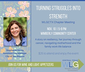 WLGCTX Chapter Meeting: Turning Struggles into Strengths tickets
