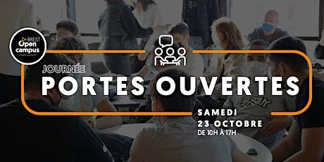 JOURNÉE PORTES OUVERTES I 23 OCTOBRE 2021 billets