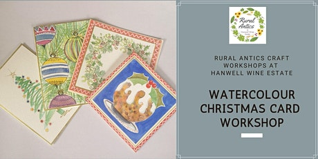 Watercolour Christmas Card Workshop tickets