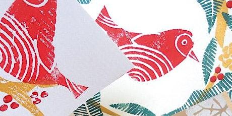 Christmas Card Printing Workshop tickets
