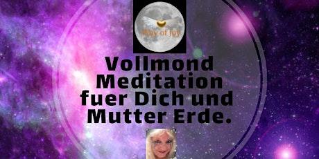 Vollmond Meditation von Glastonbury Avalon fuer Dich und Mutter Erde Tickets