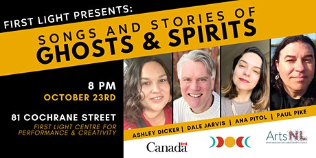 Songs and Stories of Ghosts and Spirits! tickets