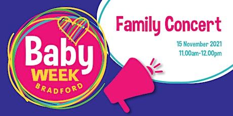 Baby Week Bradford 2021: Family Concert tickets