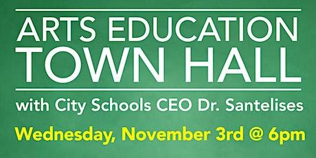 Baltimore City Public Schools Arts Education Town Hall tickets