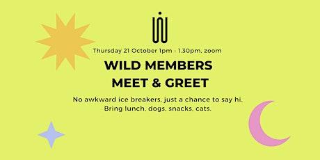 Members meet & greet (no awkward ice breakers) tickets