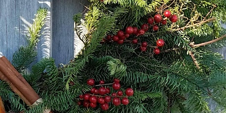 Adorn Your Front Door With A Wreath Made By You! tickets