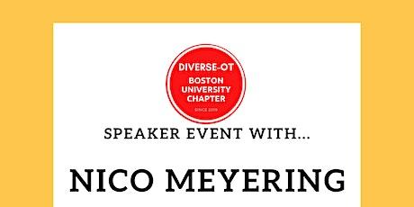 Speaker Event with Nico Meyering tickets