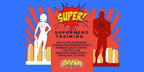 Superhero Training Event tickets