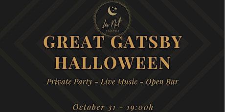 Great Gatsby Halloween entradas