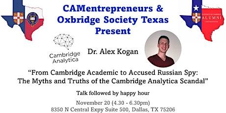 CAMentrepreneurs & Oxbridge Society Texas Joint Dallas Social tickets