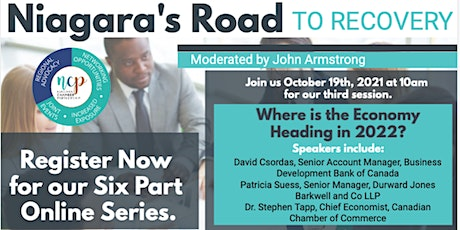 Niagara's Road to Recovery - Where is the Economy Heading in 2022? tickets