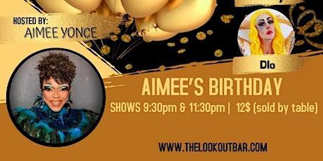 Friday Night Drag - Aimee's Birthday w/ Sunshine, Kimmy & D'Lo - 11:30pm tickets