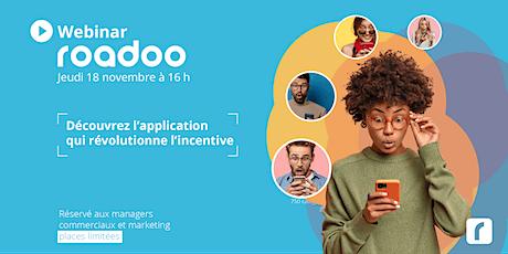 ROADOO dévoile sa nouvelle plateforme de challenge commercial. tickets