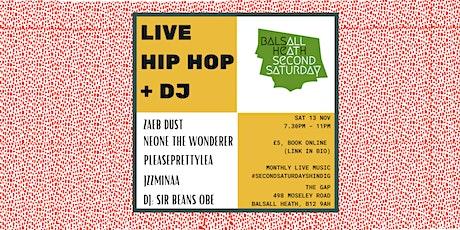 Live Music: Hip Hop Night tickets