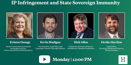 Virtual Event | IP Infringement and State Sovereign Immunity tickets