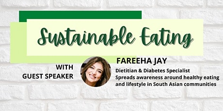 Sustainable eating COP 26 tickets