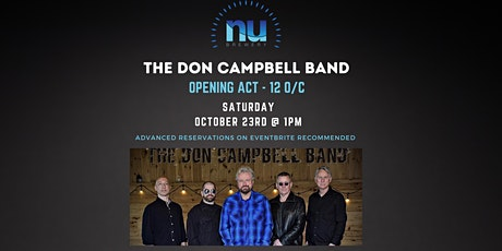 The Don Campbell Band with 12/OC Live at Nu Brewery tickets