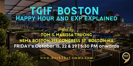 TGIF Boston Happy Hour and eXp eXplained tickets