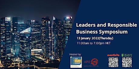 Asia Futurists Leadership Summit - Leaders & Responsible Business Symposium tickets