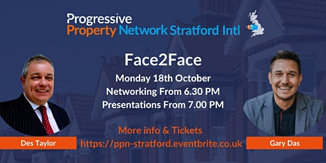 PPN Stratford Face2Face tickets