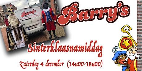 Sinterklaasnamiddag @ Barry's billets