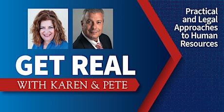 Get Real with Karen & Pete tickets
