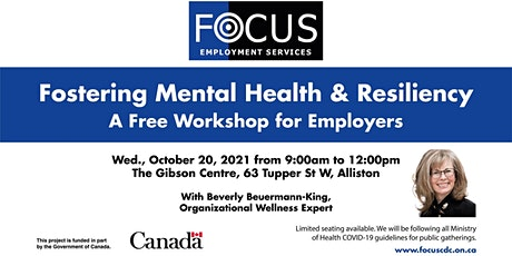 Fostering Mental Health & Resiliency tickets