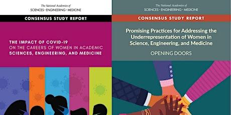 NASEM Women in Science, Engineering, and Medicine: report presentations tickets