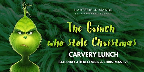 The Grinch Who Stole Christmas Carvery Lunch tickets