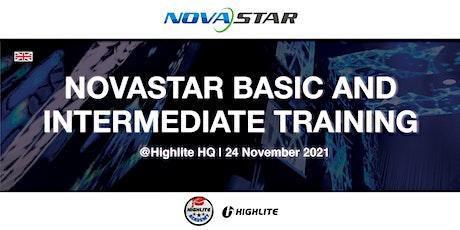 Novastar Basic and Intermediate Training @ Highlite HQ billets