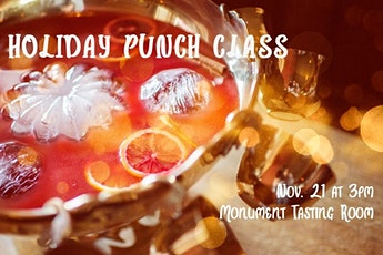 Holiday Punch Class tickets