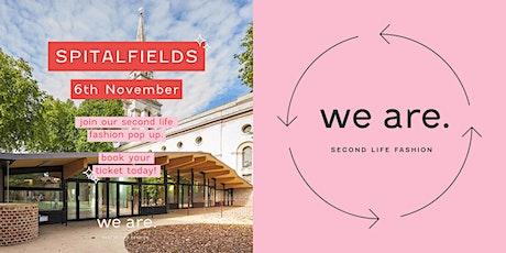 we are. Vintage Kilo Pop-Up - Spitalfields - East London tickets
