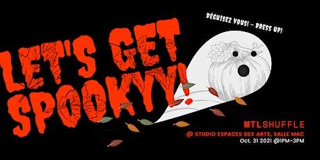 Meetup Studio - Halloween avec DJ live tickets