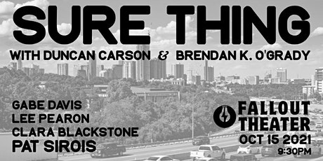 Sure Thing (Stand Up) tickets