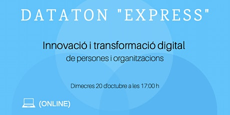 Dataton Express 20 d'octubre 2021! entradas