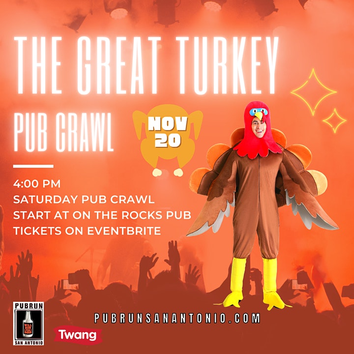 The Great Turkey Pub Crawl image