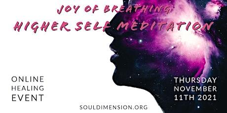 Pranayama • Joy of Breathing & Higher Self Meditation tickets