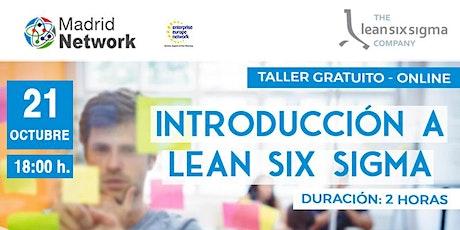 Taller: Introducción a LEAN SIX SIGMA entradas
