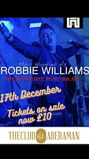 Robbie Williams Tribute Act tickets