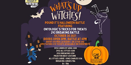What's Up Witches! Pound It's Halloween Battle Ft  Calgary's Ontologic tickets