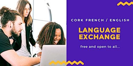 Online French / English language exchange tickets